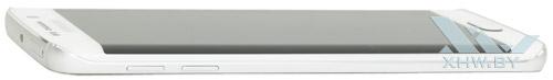 Левый торец Samsung Galaxy S6 edge