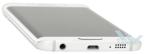 Нижний торец Samsung Galaxy S6 edge