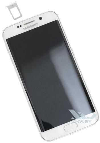 Samsung Galaxy S6 edge и держатель для SIM-карты