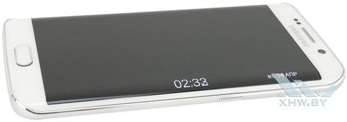 Ночное время на Samsung Galaxy S6 edge