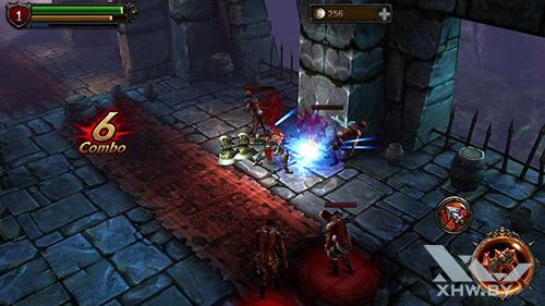 Игра Eternity Warriors 2 на Samsung Galaxy S6 edge