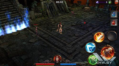 Игра Eternity Warriors 3 на Samsung Galaxy S6 edge