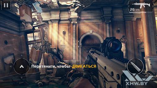 Игра Modern Combat 5 на Samsung Galaxy S6 edge