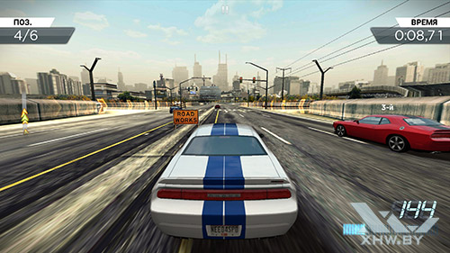 Игра Need For Speed: Most Wanted на Samsung Galaxy S6 edge