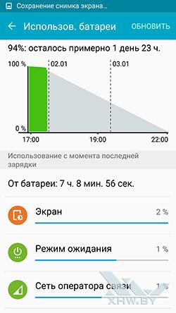 Smart Manager на Samsung Galaxy S6 edge. Рис. 3