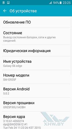 О Samsung Galaxy S6 edge