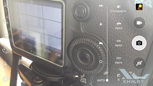 Параметры баланса белого камеры Samsung Galaxy S6 edge