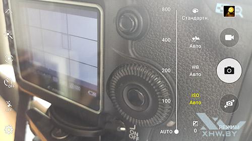 Параметры ISO камеры Samsung Galaxy S6 edge