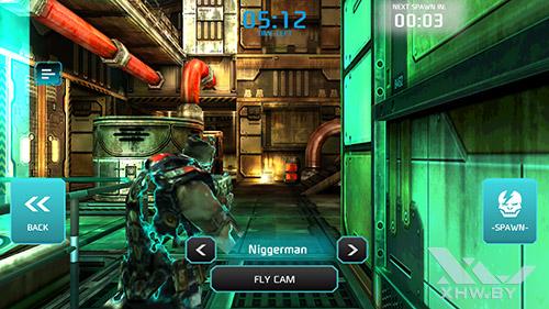 Игра Shadowgun: Dead Zone на Samsung Galaxy S6 edge