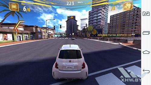 Игра Asphalt 7 на LG G3 Stylus