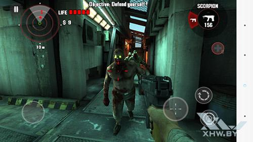 Игра Dead Trigger на LG G3 Stylus
