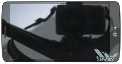 LG G3 Stylus. Вид сверху