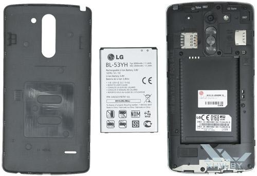 Внутри LG G3 Stylus