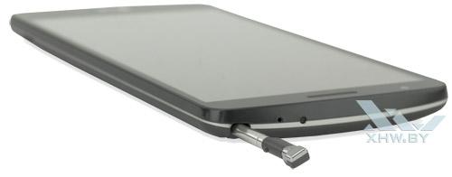 Отсек для стилуса на LG G3 Stylus