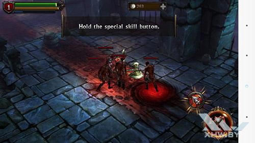 Игра Eternity Warriors 2 на LG G3 Stylus