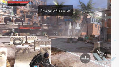 Игра Frontline Commando 2 на LG G3 Stylus