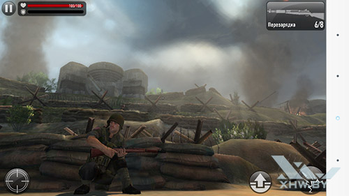 Игра Frontline Commando: Normandy на LG G3 Stylus