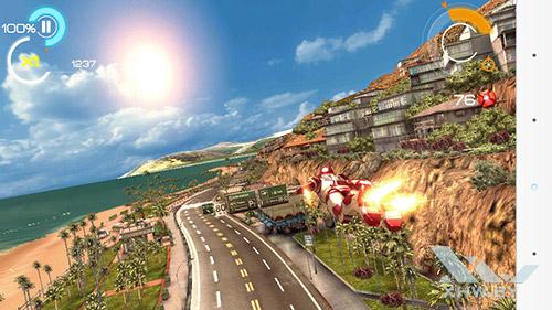 Игра Железный человек 3 на LG G3 Stylus