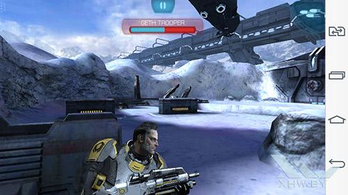 Игра Mass Effect: Infiltrator на LG G3 Stylus
