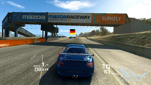Игра Real Racing 3 на LG G3 Stylus