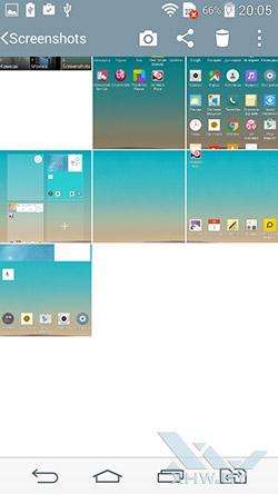 Галерея на LG G3 Stylus. Рис. 2