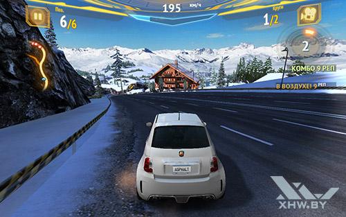 Игра Asphalt 7 на Samsung Galaxy Tab E