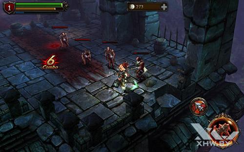 Игра Eternity Warriors 2 на Samsung Galaxy Tab E
