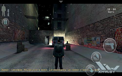 Игра Max Payne на Samsung Galaxy Tab E