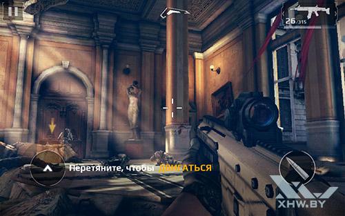 Игра Modern Combat 5: Blackout на Samsung Galaxy Tab E