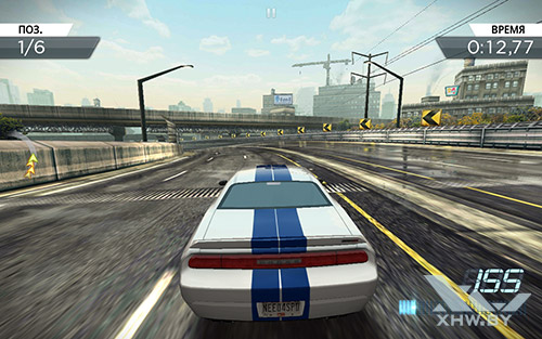 Игра Need For Speed: Most Wanted на Samsung Galaxy Tab E