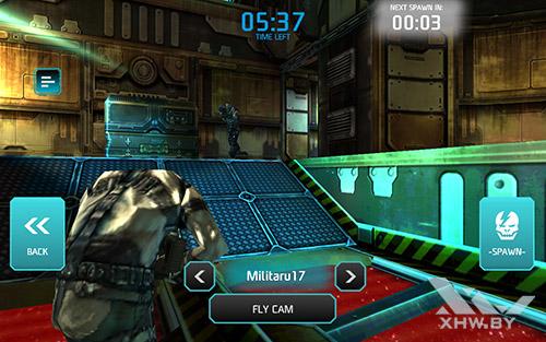 Игра Shadowgun: Dead Zone на Samsung Galaxy Tab E