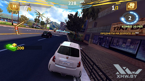 Игра Asphalt 7 на Highscreen Zera S Power