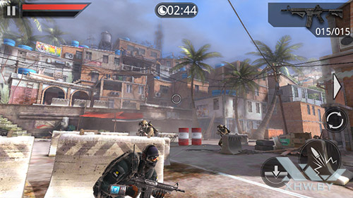 Игра Frontline Commando 2 на Highscreen Zera S Power