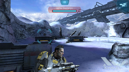 Игра Mass Effect: Infiltrator на Highscreen Zera S Power