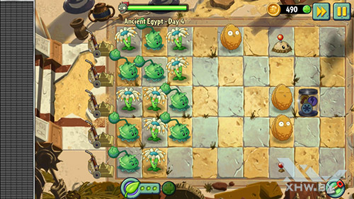 Игра Plants vs Zombies 2 на Highscreen Zera S Power