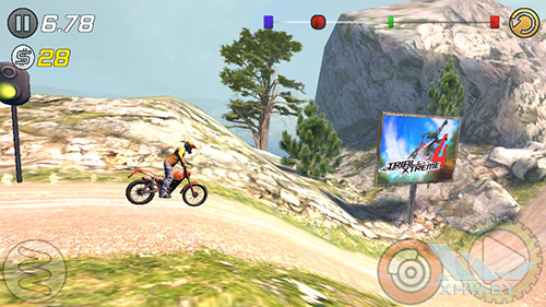 Игра Trial Xtreme 3 на Highscreen Zera S Power