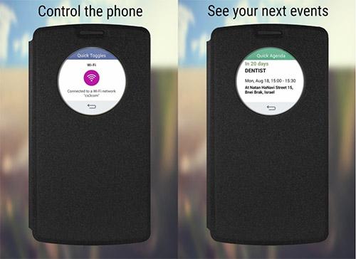 Чехол Quick Circle для LG Magna