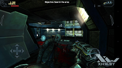 Игра Dead Effect на LG Magna