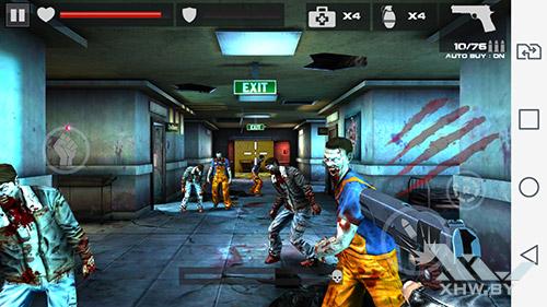 Игра Dead Target на LG Magna
