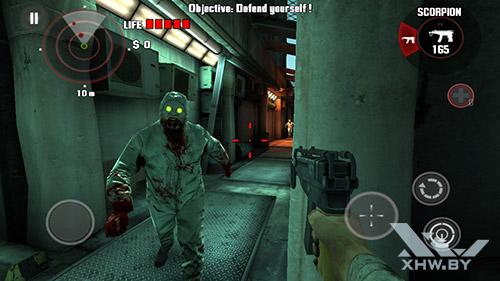 Игра Dead Trigger на LG Magna