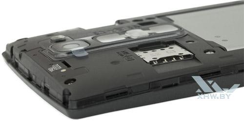 Разъем для SIM-карты на LG Magna
