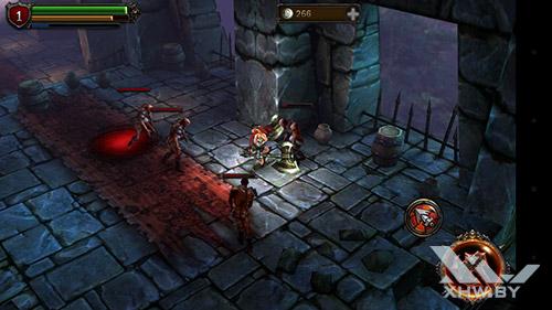 Игра Eternity Warriors 2 на LG Magna