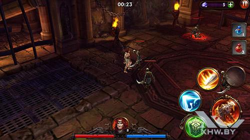 Игра Eternity Warriors 3 на LG Magna