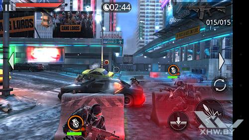 Игра Frontline Commando 2 на LG Magna