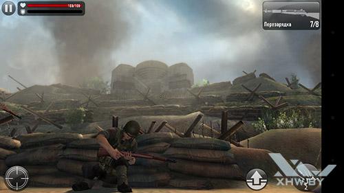 Игра Frontline Commando: Normandy на LG Magna