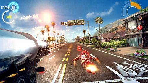 Игра Железный человек 3 на LG Magna