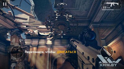 Игра Modern Combat 5 на LG Magna