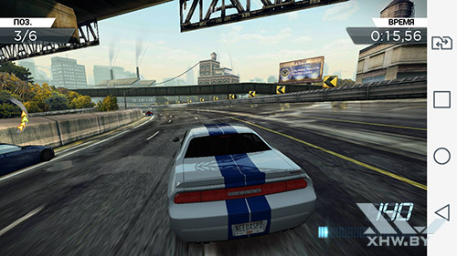 Игра Need For Speed: Most Wanted на LG Magna