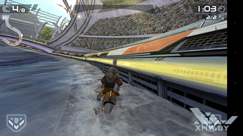 Игра Riptide GP2 на LG Magna