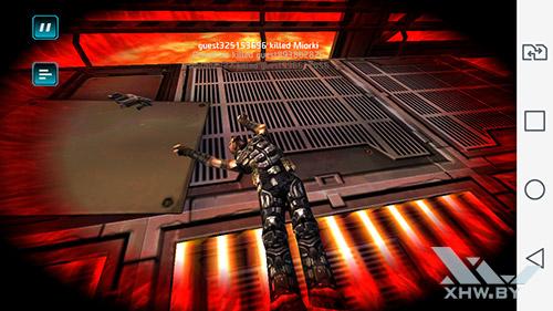 Игра Shadowgun: Dead Zone на LG Magna